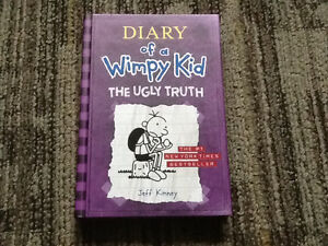 SCHOLASTIC HARDCOVER DIARY OF A WIMPY KID THE UGLY KID NEW BOOK
