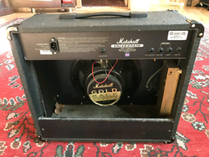 "Looking to buy a pair of marshall gold back 12"" speakers"