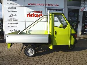 Piaggio APE 50 ALU-PRITSCHE CROSS-EDITION