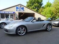 2005 05 PORSCHE BOXSTER 3.2 24V 987 2D 280 BHP FULL LEATHER SAT NAV
