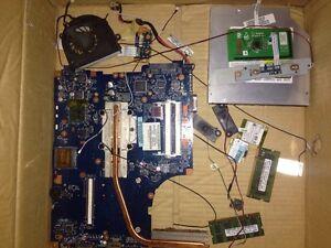 Toshiba satellite parts