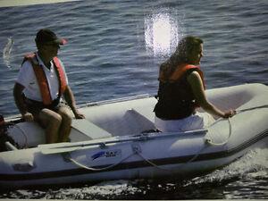 10' Inflatable Pontoon Boat Z-Ray II 500 (Zodiac-style)