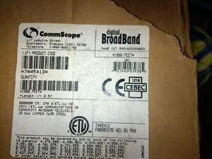 TV Cable-Commscope 18 AWG copper clad steel - white or black Kitchener / Waterloo Kitchener Area image 2