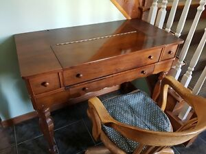 Antique writing desk in exquisite condition.