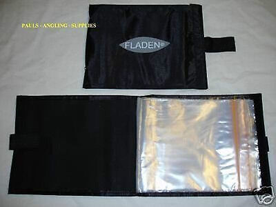 4 x FLADEN 10 POCKET RIG WALLET SEA /  CARP FISHING TACKLE