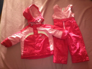 Athletic works snow jacket and pants size 18 months