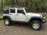 2007 Jeep Wrangler Unlimited Hard Top $15,000.00