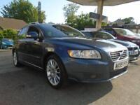2009 59 VOLVO V50 1.6 D DRIVE SE LUX 5D 109 BHP DIESEL