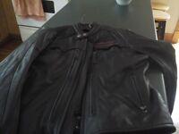 manteau harley cuir homme