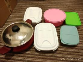 Utensils & kitchen food boxes
