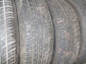 195/65 R15 Motomaster AWII all season tires on 5 X100 rims