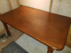 *** Solid Wood Table ***