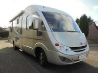 Burstner Aviano i727 A class four berth motorhome with island bed