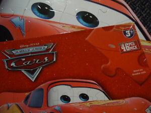 Official CARS the Movie LIGHTNING MCQUEEN Floor Puzzle Kingston Kingston Area image 5