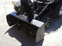"45"" Kimpex Atv Snowblower 13hp Honda engine"