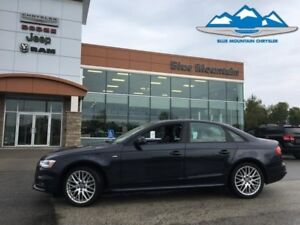 2016 Audi A4   ACCIDENT FREE, LEATHER, WARRANTY