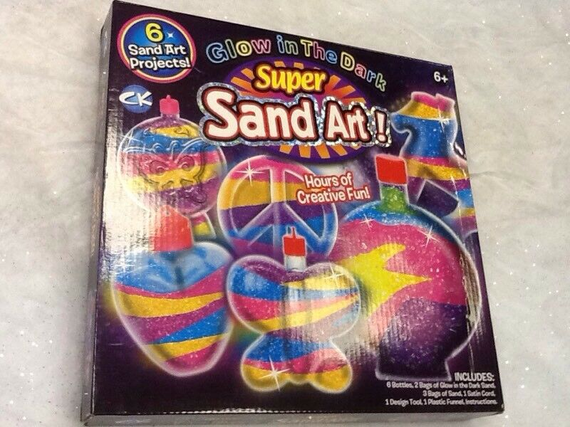 Super Sand Art - Glow in the dark, Brand new Unopened