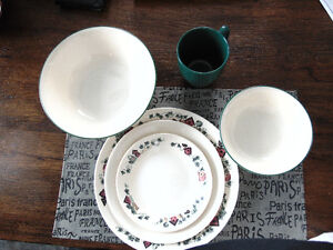 Garden Home Corelle Dishes