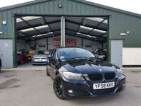 2009 BMW 320 2.0TD DIESEL AUTOMATIC PX WELCOME BLACK FRIDAY SAVE 500 £