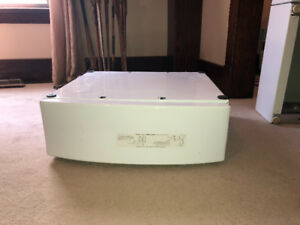 Pedestal for Whirlpool Upright Washer and Dryer