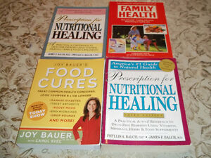 4 HEALTH BOOKS ALL FOUR FOR ONLY $8.00