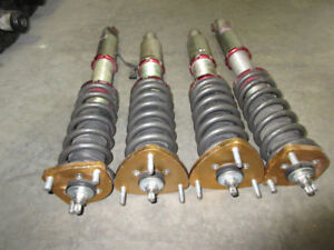 01 05 TOYOTA LEXUS IS300 3SGE ADJUSTABLE COILOVER SUSPENSION JDM