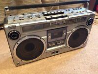 Sharp GF9191 Vintage Ghettoblaster Boombox
