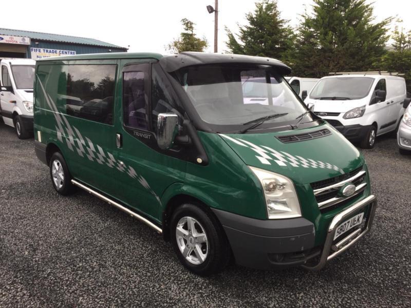 Ford TRANSIT camper van 2.2 td 85 T280S FWD 2007 07 Reg motd til the end of June