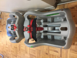 Two Graco infant seat bases
