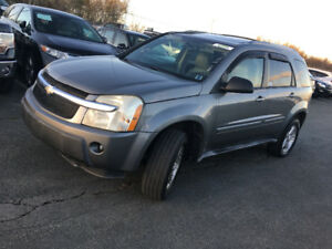 2005 CHEVY EQUINOX 4x4 LEATHER,SUNROOF,2995$@902-293-6969