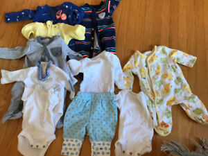 newborn/preemie baby boy/neutral clothes