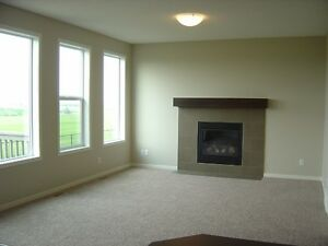 Custom built new clean 4 bdrms home back on green, MT/water view