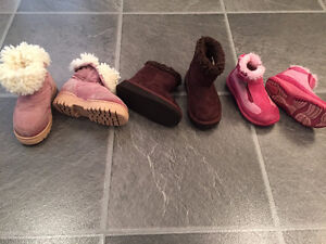 BOY'S & GIRL'S boots/shoes,jackets,snowpants size 3T-4T-5T