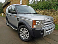 2008 LAND ROVER DISCOVERY 3 2.7 TDV6 AUTO XS 4X4 HSE SPEC. 7 SEATS !!