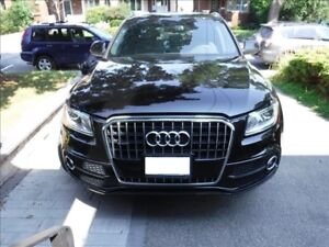 2014 Audi Q5 2.0L Progressiv, S-Line Sports Package & Pano Roof