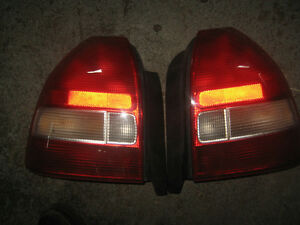 96 00 HONDA CIVIC EK EK9 OEM TAIL LIGHTS JDM EK9 REAR TAIL LIGHT