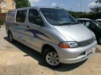 2003 Toyota HiAce 2.5 300 GS Camper Van (Converted) History 1 Owner, Low Mileage