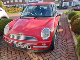 Nice Red Mini For Sale Drives Beautifully