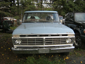 1975 Ford F100  Want it gone before snow  $1500