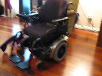 18 inch Quickie Freestyle F11 Tilt Power Chair Reduced to $600.