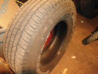 Almost new- 4-lt265/70/r17 good year wranglers,