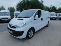 VAUXHALL VIVARO 2.OCDTI SPORTIVE LWB 1 OWNER F/S/H FINANCE ARRANGED