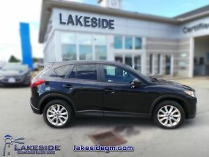 2014 Mazda CX-5 GT  - one owner - trade-in - non-smoker - Certif