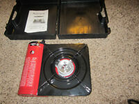 Portable gas stove--NEVER USED, NEW IN CASE!