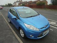 FORD FIESTA 1.6 TDCI ECONETIC DPF ZETEC 5DR...HATCHBACK, 2012 (12 PLATE).