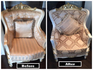 Re-upholstery & upholstery services