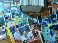 200 Different DETROIT TIGERS Baseball Cards