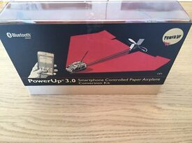 Power up 3.0 remote control paper plane
