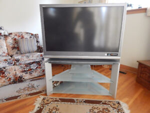 """SONY 42"""" TV with matching Stand"""