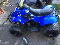 Kids thundercat 110cc quad with 4 gears
